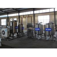 Buy cheap Stainless Steel Milk Processing Machine , Pasteurized Milk Processing Line product