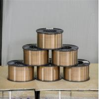 Buy cheap MAG / MIG Welding Filler Material Gas Shielded Wire AWS A5.28 ER80S - G Soild Wire product