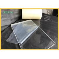 Buy cheap Transparent Plastic Sheet Protective Film For Plactic Board / PVC PE Protection Film product