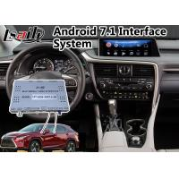 Buy cheap Android 7.1 Navigation Interface System for 2015-2018 Lexus RX 350 with Mouse from wholesalers