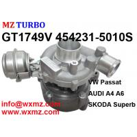 China MZ TURBO Qualified Sales Turbocharger GT1749v 454231-5010s 028145702r Turbo for Audi A6 TDI on sale