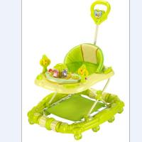 Buy cheap Adjust Modern Baby Girl Walker 6 Wheel Plastic Baby Walker with Handle product