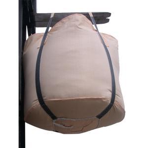Buy cheap 4 Loops Full Open Top One Ton Bulk Bags , PP Fabric Bulk Packaging Bags product