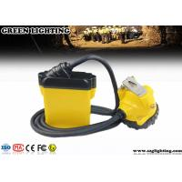 Buy cheap IP68 Approved 25000lux 3W Cree Safety Mining Cap Lights  with 3 Levels Lighting product