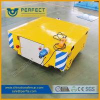 Buy cheap 2T small loading table rail car powered by battery moving on rails product