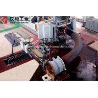 China Hydraulic Clamping Mechanical Driving Steel Tube Bending Machine 159-530 mm Bending Dia wholesale