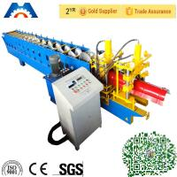China Galvanized New Type Ridge Cap Light Gauge Steel Roll Forming Machine with CE ISO on sale