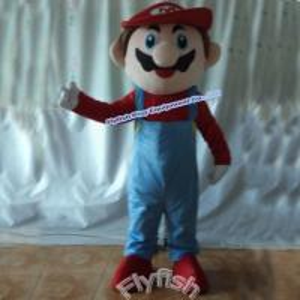 Buy cheap adult super mario mascot costume product