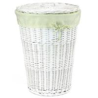 Large laundry hamper images images of large laundry hamper - Wicker laundry basket with liner and lid ...