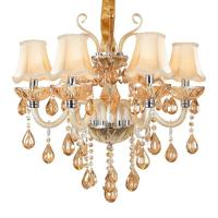 China Luxury Crystal chandelier lighting For Living Room lustre sala de jantar cristal Modern Chandeliers Light Fixtures wholesale