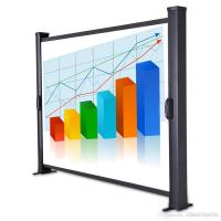 """Buy cheap 40"""" Mobile Portable Projection Screens Desktop Portable Projector Screen product"""