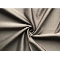 China 250gsm dry fit 100% polyester tricot knit fabric dty interlock knitted fabric for suit on sale