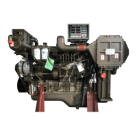Buy cheap 865HP 1350RPM Marine Diesel Engine Yuchai Water Cooling System product