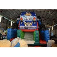 Buy cheap Durable Monster Truck Inflatable Slide / Digital Printing SUV Expedition Car Dry Slide product