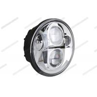China 5.75 Inch Round Motorcycle Headlight , 4x4 Harley LED Headlight For Off Road / Jeep on sale