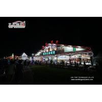 Waterproof Outdoor Event Tents 50M Huge Clear Span Aluminum Frame Tent Hall for Beer Festival