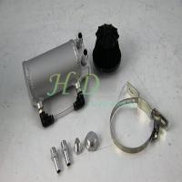 Buy cheap Silver  Reservoir Oil Catch Tank  3mm thickness With Breather Filter product