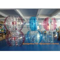 Buy cheap Customized Double Inflatable Human Bubble Ball For Leisure Centre , Park from wholesalers