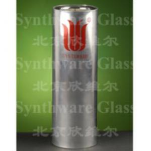 実験室のガラス器具-フラスコ、Dewar、広い口、金属ハウジング