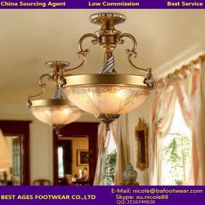 Buy cheap Lámpara de cobre amarillo antigua del techo para el sitio y lámpara clásica del techo para el AGENTE product