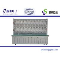 Buy cheap 12 Pcs Single Phase Prepaid Digital KWH Meter Test Bench 0.5mA~120A Current from wholesalers