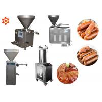 Buy cheap Stable Performance Industrial Sausage Making Machine 12 Month Warranty product
