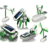 Buy cheap 6 in 1 Solar Powered Robot from wholesalers