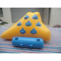 Buy cheap Yellow And Light Blue Inflatable Water Games , Small Sealed Inflatable Iceberg product