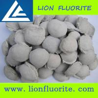 Buy cheap Fluorspar mine owner from China CaF2 80%. Calcium Fluorite/Fluorspar Briquette,Fluorspar Ball product