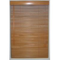 Buy cheap 25mm Slat Basswood Venetian Blinds Timber Window Blinds product