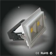 China 2PCS America bridgelux 45milchips LED retangle flood lamp 38w high power high CRI on sale