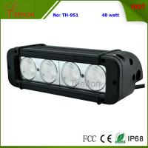 China 40 Watt 8 Inch Single-Row CREE LED Light Bar SXS Light bar for 4X4 off-Road Vehicles on sale