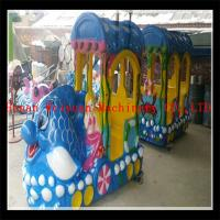 Buy cheap 8% discount supply electric track train under sea world train ride for sale product