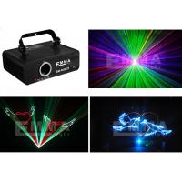 China 600mw Professional 3D Led Laser Lights With 4g Sd Card / Power Cable wholesale