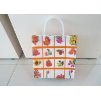 Buy cheap Lady Reusable Custom Printed Shopping Bags Square Bottom Wear Resistant product