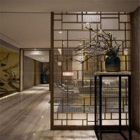 Buy cheap Decorative Metal Screen interior partition wall panel designs customized metal furniture product