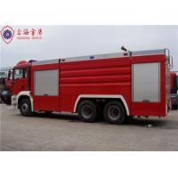 Buy cheap 6x4 MAN Chassis Water Vacuum Tanker Fire Truck With Direct Injection Diesel Engine Euro 4 Emission product