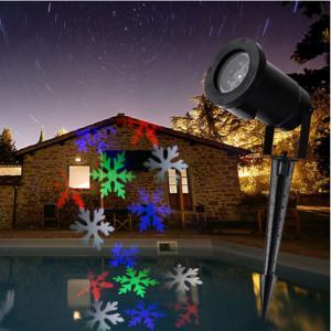 Buy cheap レーザー光線プロジェクター屋内屋外段階の景色の芝生の庭Snowfakes 6 LED product