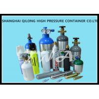 1.5L High Pressure Aluminium Gas Bottles 316mm Length Hospital Oxygen Cylinder