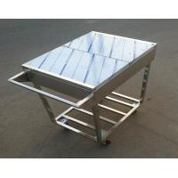 Buy cheap Stainless Steel Kitchen Condiments Trolley For Wok Stove with 12 Containers Capacity from wholesalers