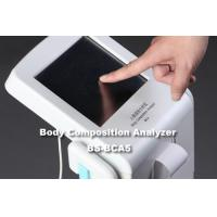 China CE Approved Body Fat Checking Machine With Big Scale Colorful Touch Screen Control Panel on sale