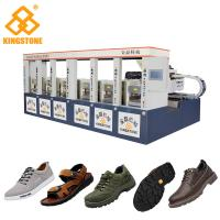 Buy cheap Two Layer Shoe Sole Mould Making Machine, Safety Shoe Making MachineLow Labour product