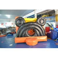 China Truck Inflatable Jumping Castle Bounce House For Outdoor Blow up Games on sale