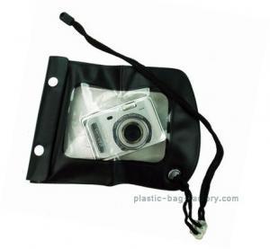 Portable Waterproof Mobile Cover Diving Black TPU Handphone Case 20x11.5cm Size