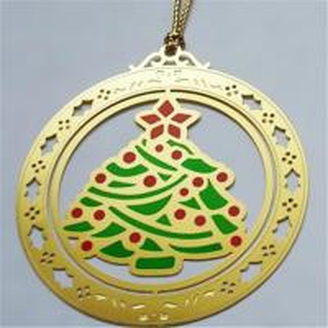 Buy cheap Le cadeau de Noël a chimiquement gravé à l'eau-forte des repères, repères photogravés de marqueur de page d'arbre de X'mas, product