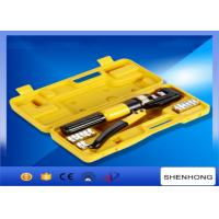 Buy cheap 10MM stroke Hexagon Manual Hydraulic Crimping Tool Crimping Up to 4-70mm2 product