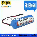 Buy cheap 3.6V ER18505M Lithium Thionyl Chloride Battery (er14250mer14335m er14505m er26500m er3461m product