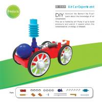 Buy cheap Classic School DIY Educational Toys Electronic Components , Non Toxic Air Car Toy product