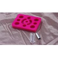 Buy cheap Pink Tattoo Gun Holder For Permanent Makeup Machine / Pen / Ink 12 Grips product