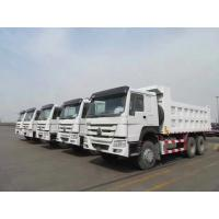 Buy cheap sinotruk 40 ton howo dump truck HC16 hud reduction axle 300L Fuel Tank product